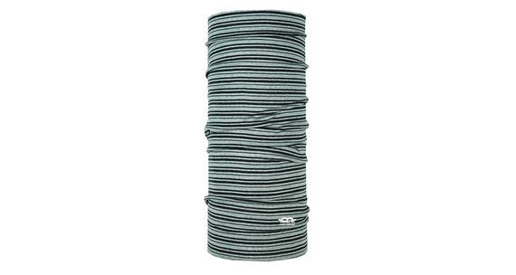 P.A.C. Merino Wool Multifunktionstuch Stripes Darkgrey
